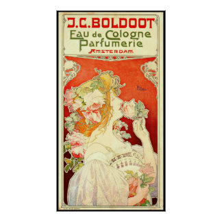 Perfume Ad 1897 Poster