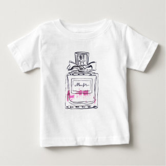 Perfume bottle fashion watercolour illustration baby T-Shirt