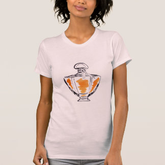Perfume bottle fashion watercolour illustration T-Shirt