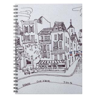 Perfume Museum & Street Scene | Grasse, France Notebooks