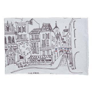 Perfume Museum & Street Scene | Grasse, France Pillowcase