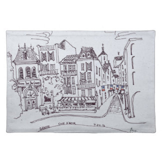 Perfume Museum & Street Scene | Grasse, France Placemat