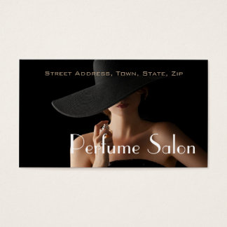 Perfume Salon Fragrance Scent Aroma Model Business Card