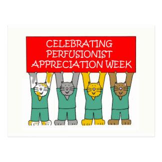 Perfusionist appreciation week postcard