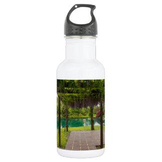Pergola Of Wisteria 532 Ml Water Bottle