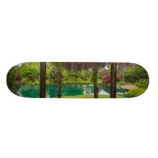 Pergola Of Wisteria Skateboard