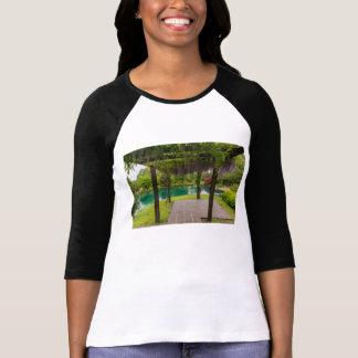 Pergola Of Wisteria T-Shirt