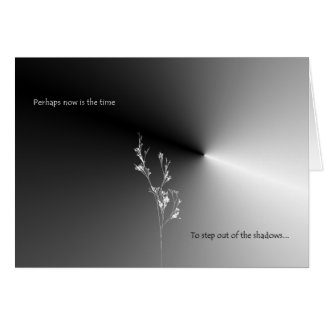 Perhaps now is the time greeting cards
