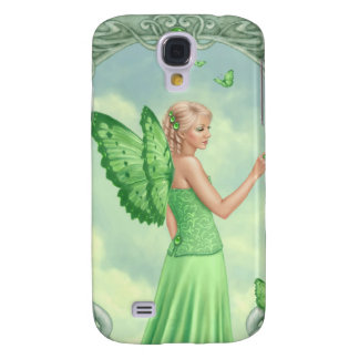 Peridot Birthstone Fairy Samsung Galaxy S4 Case