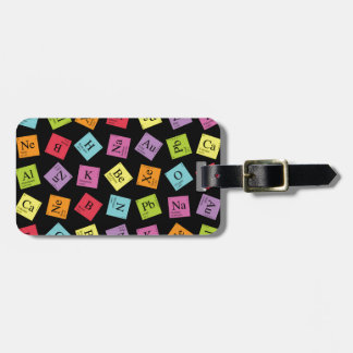 Periodic Elements Luggage Tag