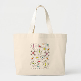 Periodic Shells Jumbo Tote Bag