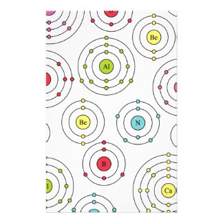 Periodic Shells Stationery