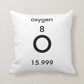 Periodic Table 8 Oxygen Pillow