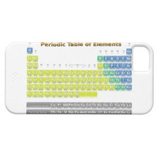 Periodic Table Barely There iPhone 5 Case