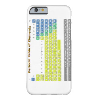 Periodic Table Barely There iPhone 6 Case