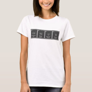 Periodic Table GeNiUS Tshirt