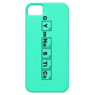 Periodic Table Gymnastics iPhone 5 Cases