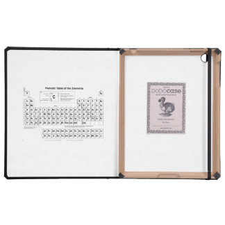 Periodic Table iPad Folio Case