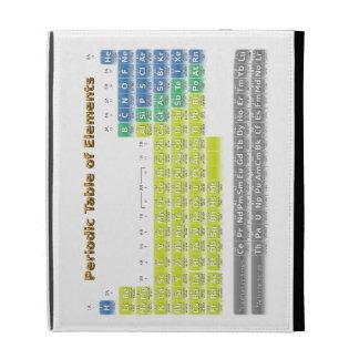 Periodic Table iPad Folio Cases