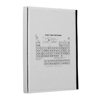 Periodic Table iPad Folio Cover