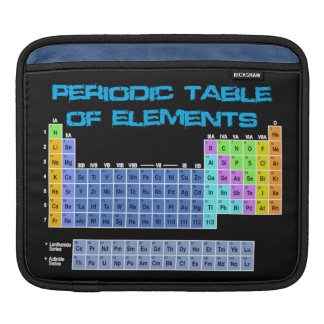 Periodic Table iPad Sleeve