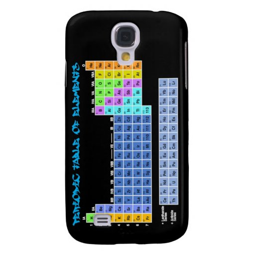 Periodic Table iPhone 3 Case