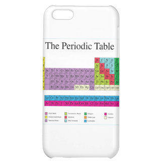 Periodic Table iPhone 5C Cover
