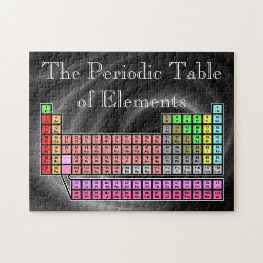 Periodic Table Jigsaw Puzzle