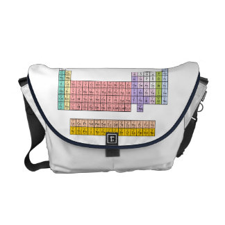 Periodic Table Messenger Bags