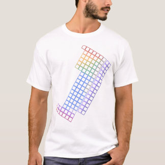 Periodic Table of Elements - Blank Outline - Shirt
