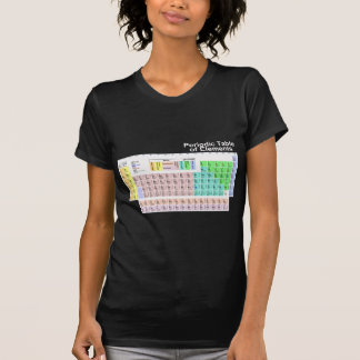 Periodic Table of Elements - Dark T-Shirt