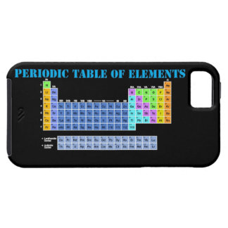 Periodic Table of Elements iPhone 5 Case