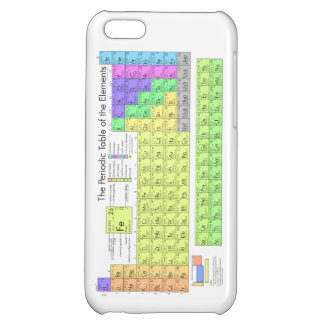 Periodic table of elements iPhone 5C covers
