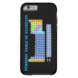 Periodic Table of Elements iPhone 6 case Tough iPhone 6 Case