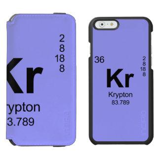 Periodic Table of Elements (Krypton) Incipio Watson™ iPhone 6 Wallet Case