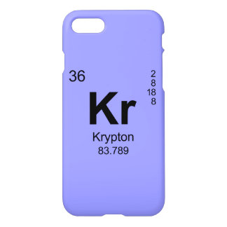 Periodic Table of Elements (Krypton) iPhone 7 Case
