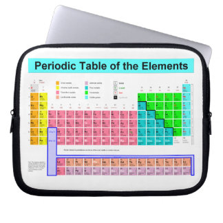 Periodic Table of elements lap top bag