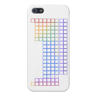 Periodic Table of Elements - Outline - Phone Case iPhone 5 Covers