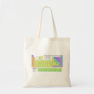 Periodic Table of the Elements Budget Tote Bag