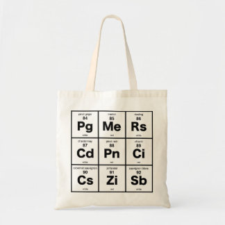 Periodic Table of Wine Budget Tote Bag