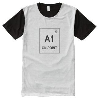 Periodic Table Shirt - On Point for Men All-Over Print T-Shirt