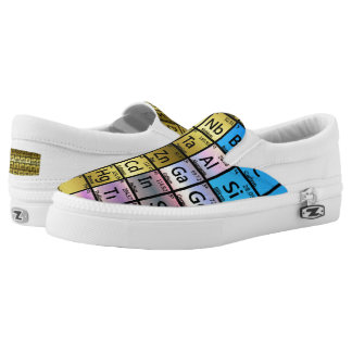 Periodic Table Slip On Shoes