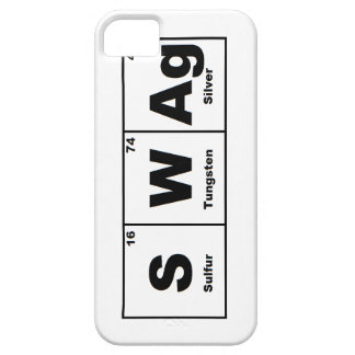 Periodic Table Swag iPhone 5 Cases