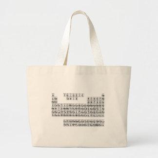 Periodic Table (v1) Canvas Bag