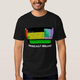 Periodically Brilliant T-Shirt, Black Tee Shirt
