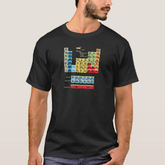 Periodically Fictional Table T-Shirt