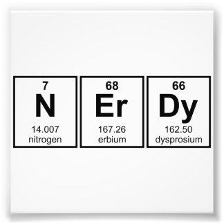 Periodically Nerdy Element Symbols Photo