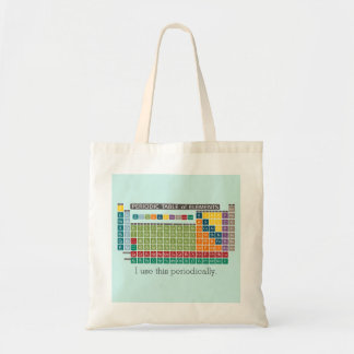 Periodically Periodic Table of Elements Budget Tote Bag