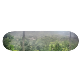 Periphery of the jungle 20.6 cm skateboard deck