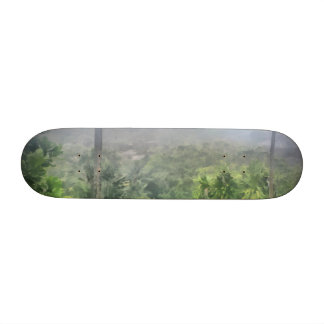 Periphery of the jungle skate deck